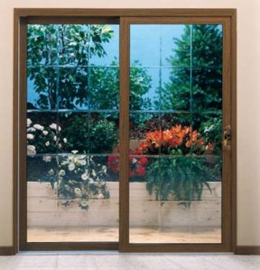 Winchester Patio Door Beveled Glass