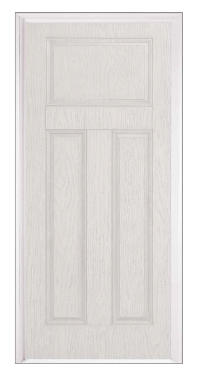 Craftsman Steel Entry Door With No Window