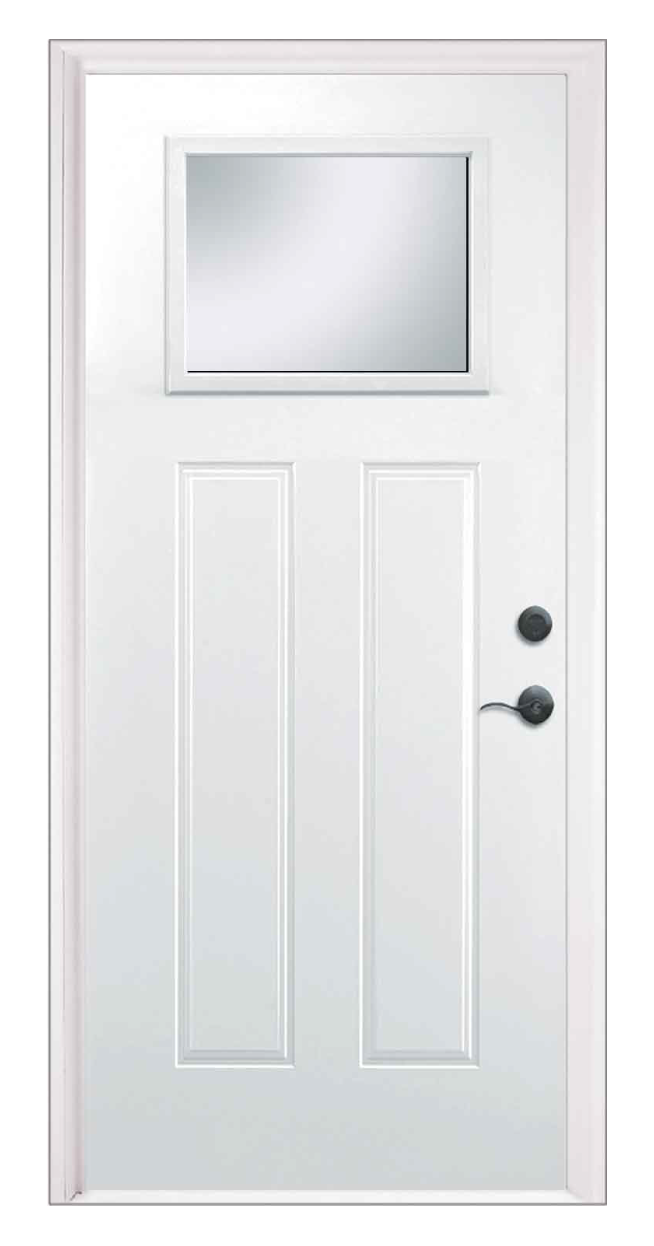 Craftsman Clear Lite Entry Door
