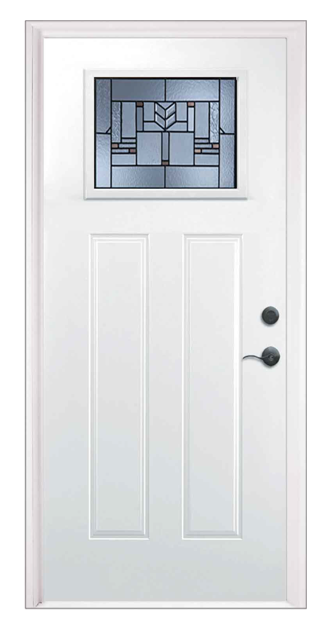 Leighton Style Craftsman Entry Door