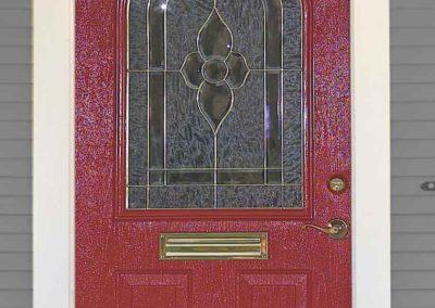 External view of heather entry door.