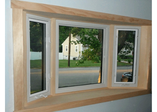 Oxford Bay Window Interior With Casement Windows On the Ends
