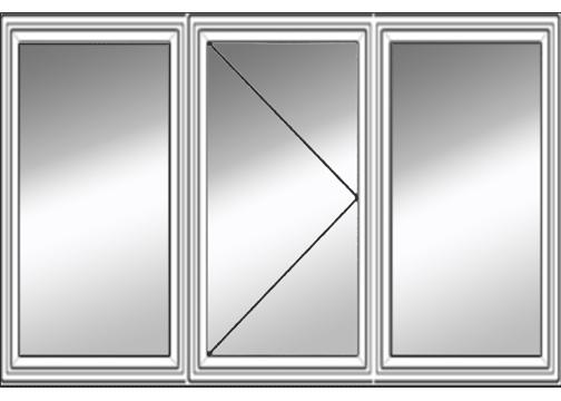 3 Lite Bristol Casement Window