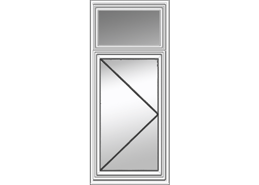 Bristol Casement Window With Transom
